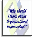 Why Learn about Organizational Engineering